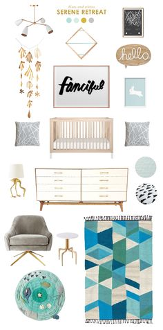 I haven't done an inspiration board in awhile, and there are so many fun new collections out to feature! Here is some inspiration around my favorite new crib (can't wait to share more on this one – it has interchangeable feet!!). I'm also positively crazy about that chair. I'm not sure it would make the […]