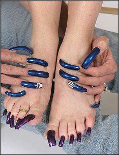 Beautiful Toes, Pretty Toes, Gorgeous Nails, Long Square Acrylic Nails, Blue Acrylic Nails, Toe Nail Art, Toe Nails, Nail Nail, Coffin Nails