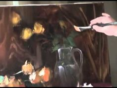 Igor Sakharov: bouquet of yellow roses (artist video tutorial painting ...