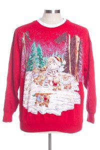 Red Ugly Christmas Sweatshirts 31187