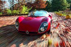 Alfa Romeo 33 Stradale  http://www.kidston.com/kidston-cars/1120/1968-Alfa-Romeo-Tipo-33-Stradale