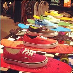 Penny boards and vans!