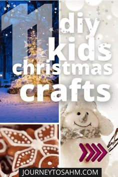 Easy Christmas Crafts for Kids and Toddlers- It's time to get the kids in the Christmas spirit! Christmas is all about spending time as a family together. What better way to do that than these easy Christmas craft ideas? There's nothing more magical than watching your toddler's face light up when they finish creating Santa or a tree with these homemade Christmas crafts for kids. | Journey to SAHM @journeytosahm #toddlerchristmascrafts #toddlerdiyholidaycrafts #journeytosahm Toddler Age, Toddler Preschool, Toddler Crafts, Preschool Crafts, Toddler Activities, Fun Activities, Kid Crafts, Homemade Christmas, Simple Christmas