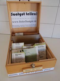 rebelle upcycling: Freies Saatgut für alle