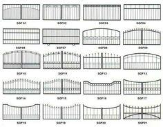Steel Gate Design, Front Gate Design, Main Gate Design, House Gate Design, Door Gate Design, Metal Gates, Wrought Iron Gates, Wrought Iron Gate Designs, Metal Garden Gates