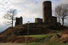 Kugelsburg Volkmarsen Hessen Nordhessen Burgruine Ruin Castle