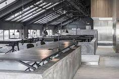 Resultado de imagem para area gourmet concreto industrial