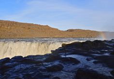 Raw power of Dettifoss the most powerful waterfall in Europe [OC] [4326 x 2990]