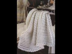 Crochet Patterns| for free |lacy baby blanket crochet pattern| 1241