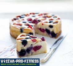 Tvarohový koláč | Výživa pro fitness