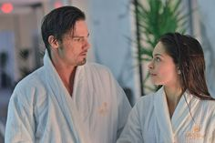 "Robes. Vincat. Yummy! Picture 17092 « Beauty And The Beast: ""Date Night"" Images With Pool Fun For Vincent & Cat! 