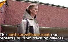 Cientistas holandeses criam capa anti-espião - EExpoNews