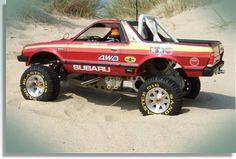 Ruge's Subaru, BRAT racer!