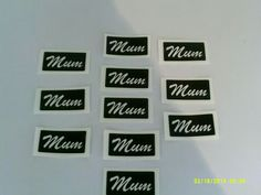 10 x Mum word stencils for glitter tattoos, airbrush / face painting Mothers Day #DazzleGlitterTattoos #TemporaryTattoosHenna Glitter Tattoo Set, Glitter Art, Word Stencils, Tattoo Stencils, Mothering Sunday, Mother Gifts, Mothers, Glass Etching, Airbrush
