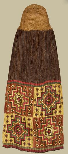Peru | Wig hat; camelid fiber and human hair | Nasca culture | ca. 200 - 600