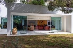 Not so practical in Michigan... but oh so gorgeous (A Marble-Floored Contemporary With a Garden - Slide Show - NYTimes.com)