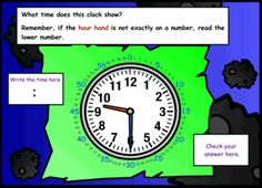 Great interactive Smart Notebook Lesson on telling time.  It covers to the hour, half-hour, quarter hour, five minutes, and even to the minute!  Lots of opportunities for student interaction at the board!