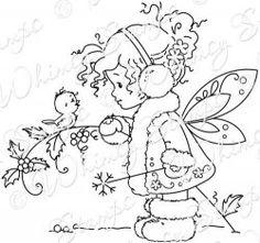 Winter Fairy by Meljin Designs