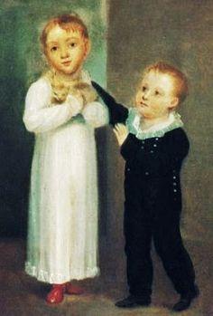 1819 Regina and Richard Mason with kitten