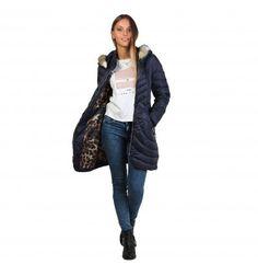 DAWN LEVY Mystic Blue Coat - MyaBelle - 1