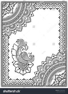 Peacock Painting, Dot Painting, Fabric Painting, Madhubani Art, Madhubani Painting, Doodle Art Drawing, Mandala Drawing, Unique Drawings, Art Drawings Sketches