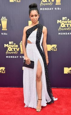 Amandla Stenberg from MTV Movie & TV Awards 2018: Red Carpet Fashion | E! News