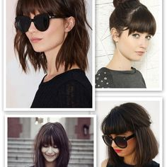 I have a hair cut appointment later this week and itching for a change. Here's my inspiration. ? #bangs #haircut #helpmedecide