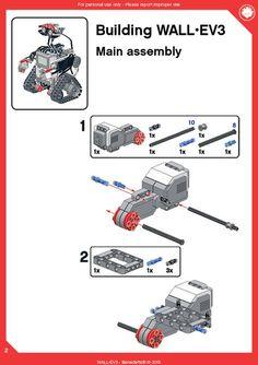 GO DIY TODAY. Lego Nxt, Lego Wall-e, Lego Wedo, Lego Robot, Legos, Lego Mindstorms, Lego Technic, Arduino Projects, Lego Projects
