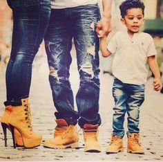 Family Matching boots