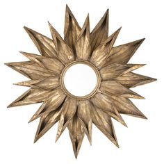 Sunburst Wall Mirror - cool! I'd like to have that in my living room