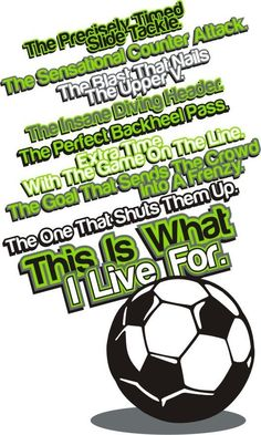 Soccer is amazing