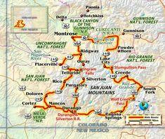 Motorcycle ride Colorado San Juan Mountains Million Dollar Highway Road Trip To Colorado, Us Road Trip, San Juan Mountains, Rocky Mountains, Colorado Mountains, Rio Grande, Paonia Colorado, Creede Colorado, Pagosa Springs