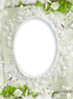 Zachte Witte PNG Photo Frame
