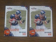 awesome ERIC DECKER 2010 Score Football Rookie Card Lot x 2 RC - For Sale View more at http://shipperscentral.com/wp/product/eric-decker-2010-score-football-rookie-card-lot-x-2-rc-for-sale/
