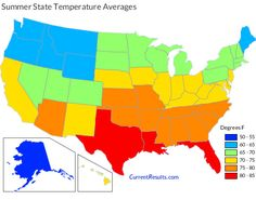 Climate Zones of the Continental United States RVing Pinterest