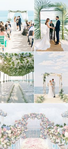 Have you ever imagined yourself marrying barefoot in the sand at an intimate beach wedding?  If so, you probably also want to incorporate your own signature styles into the wedding with some creative designs and decor.  Here are some lovely ideas to ensure that your unique beach wedding will shine through a lifetime of happy …