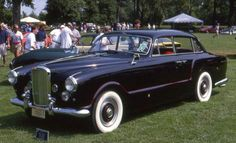 1953 Four-door Saloon by Arnolt (chassis B43LSP, design by Bertone)