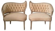 Tufted Chairs, Pair | Love the Look | One Kings Lane