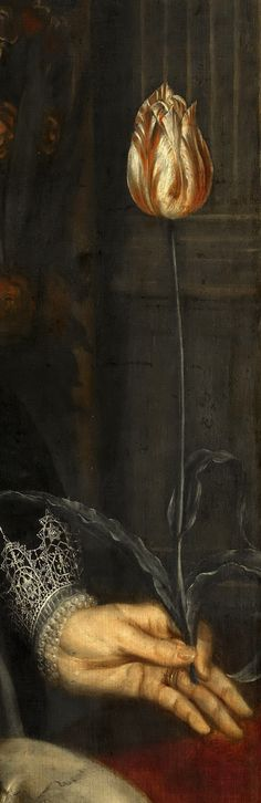"""portrait of a lady"" (detail) 