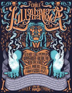 Poster Lollapalooza   por Varco Millar