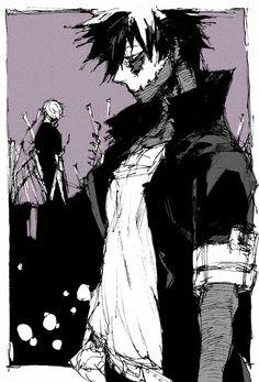 Boku no Hero Academia    Dabi, Shigaraki Tomura.