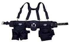 TOOL BELT With Suspenders. Integrated back support and work suspenders. 30 total pockets for nail and tool storage. Heavy duty fabric for maximum durability. This is a complete tool belt system with integrated back support. Storage Sheds For Sale, Garage Storage Systems, Belt Storage, Tool Storage, Klein Tool Belt, Best Tool Belt, Work Suspenders, Tool Belt Pouch, Phone Holster