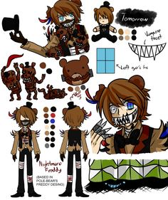 Nightmare Freddy by Wolf-con-f.deviantart.com on @DeviantArt