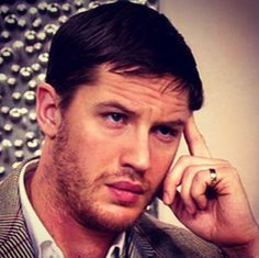Tom Hardy ...  those lips those eyes that hair