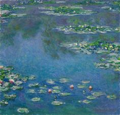 Claude Monet waterlilies  Art Institute of Chicago