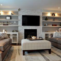 Family Room design & renovation