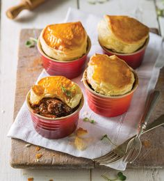 Mini Beef Pies - Le Creuset Recipes