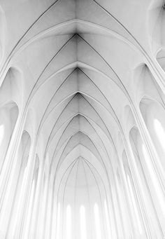Iceland - Reykjavik: Modern church Hallgrimskirkja by John & Tina Reid, via Flickr