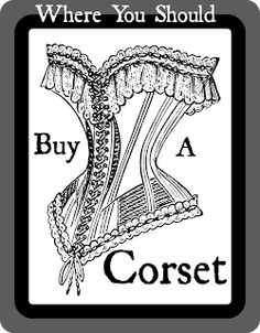 Steam Ingenious: Where to Buy a Corset, Part 1: Independent Makers