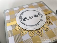 Stampin Up - Box - Metalldose - Global Design Project - GDP099 - Themechallenge - Hochzeit - Wedding♥ StempelnmitLiebe